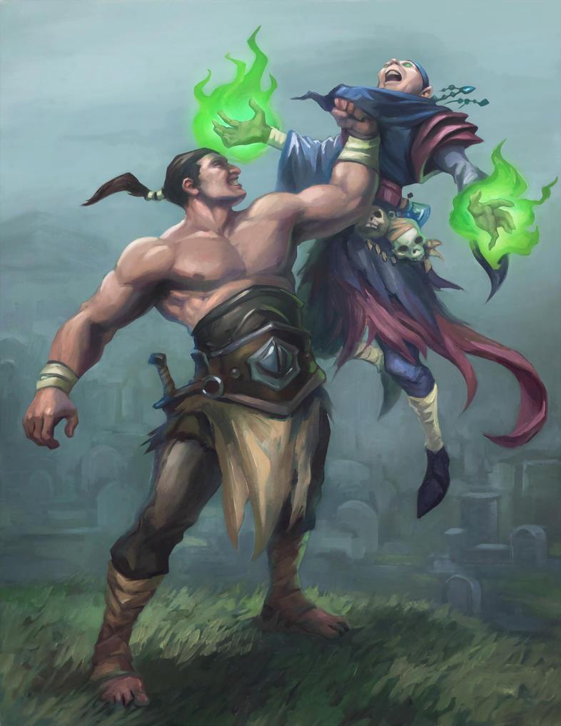 Necromancer by egilthompson