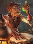 Alchemist Halfling