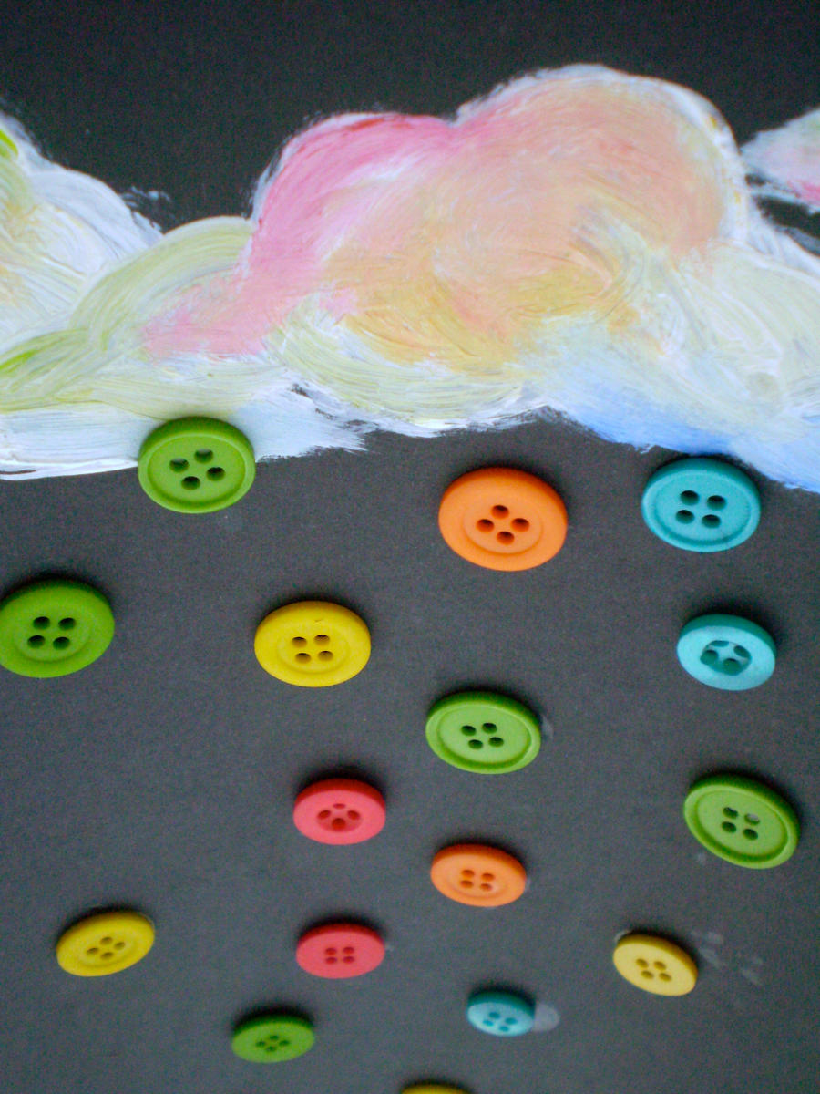 Raining Buttons by spontaneous-at-times