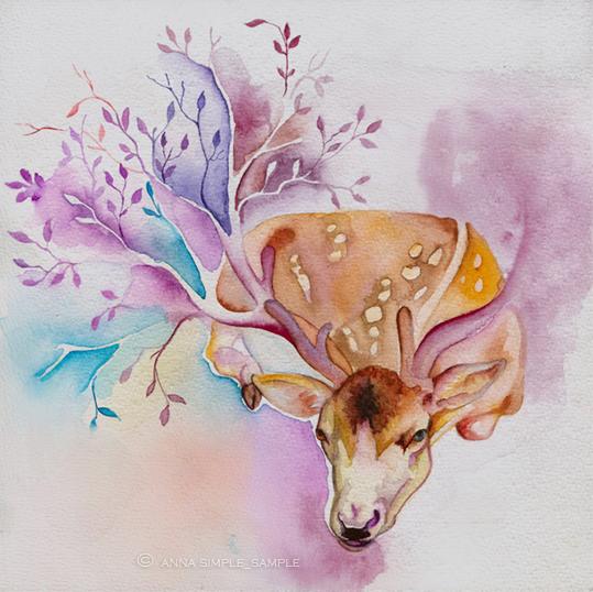 deer by annaSimplesSample