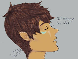 I'll always be blue - Altean!Lance by Jazz-demo
