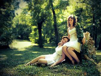 Fairy Sisters by o0she0o