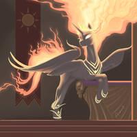 Nightmare Star - Throne Pose by Gregan811