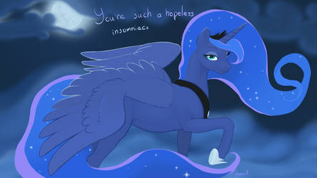 Luna - You're such a hopeless insomniac by Gregan811