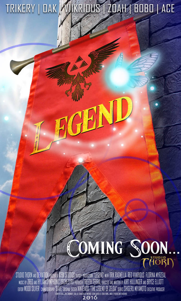 Legend Poster #1  -  Series Preparation