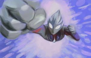Ultraman by sjdx