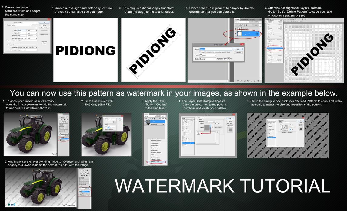 Watermark Tutorial by Pidiong