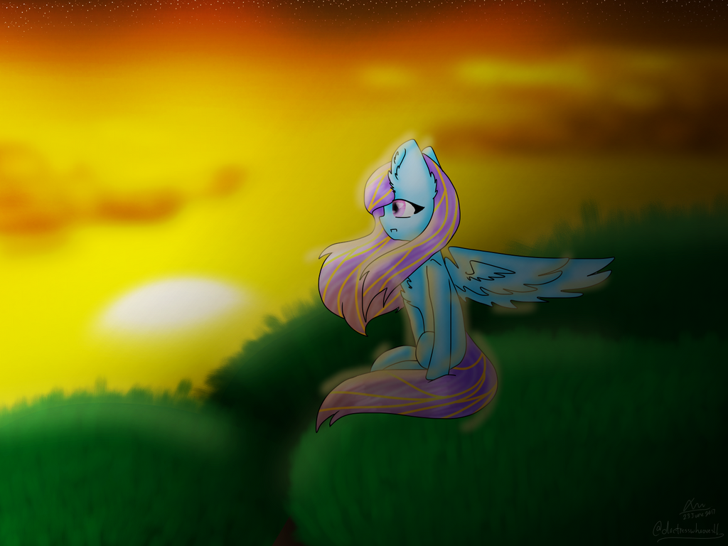 Watching The Sunset by DoctressWhooves11
