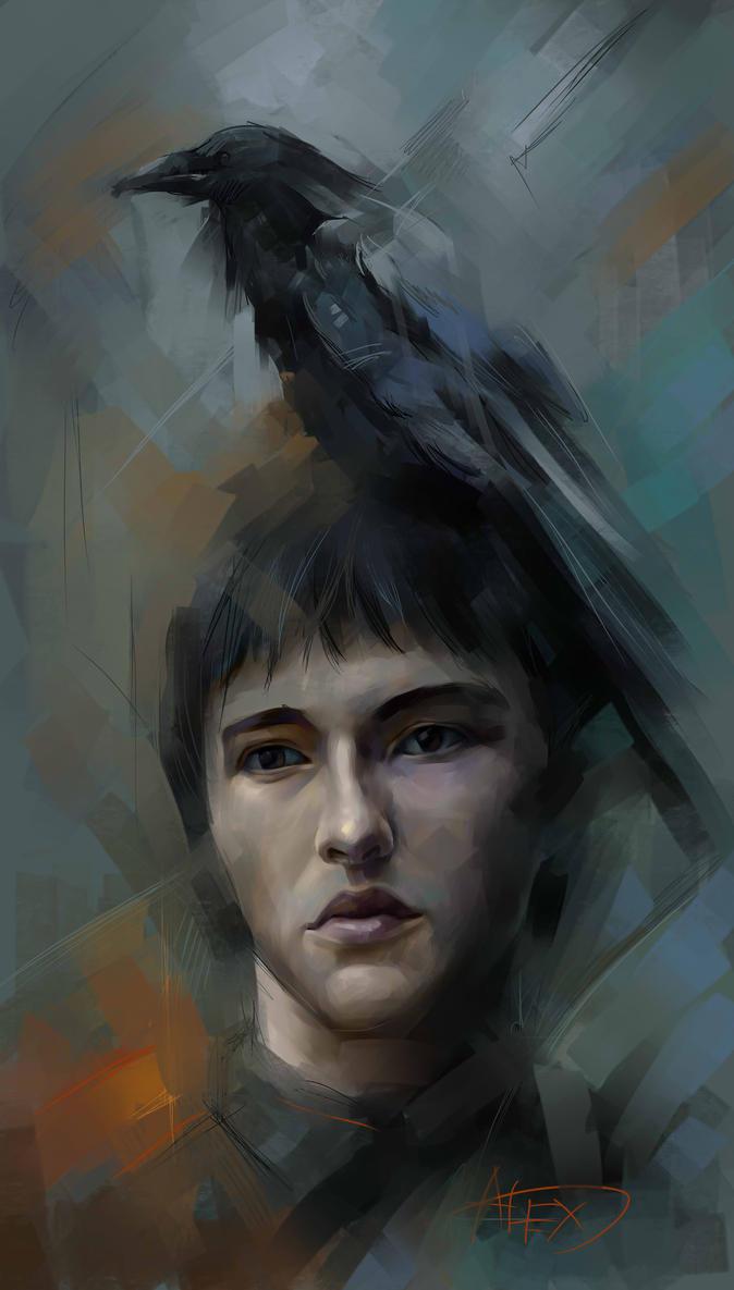 brane stark game of thrones by AlexPotapov