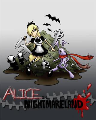 Alice in Nightmareland Colors by Elisa-Feliz
