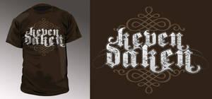 Keven Daken T-shirt design