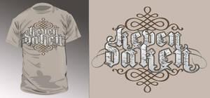 Keven Daken T-shirt design2