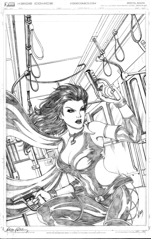 Dark X-girl Cover - Pencils