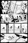 Codename: X-Girl page 02 Inks by Elisa-Feliz