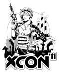 Xcon World 2011 Logo - Inks