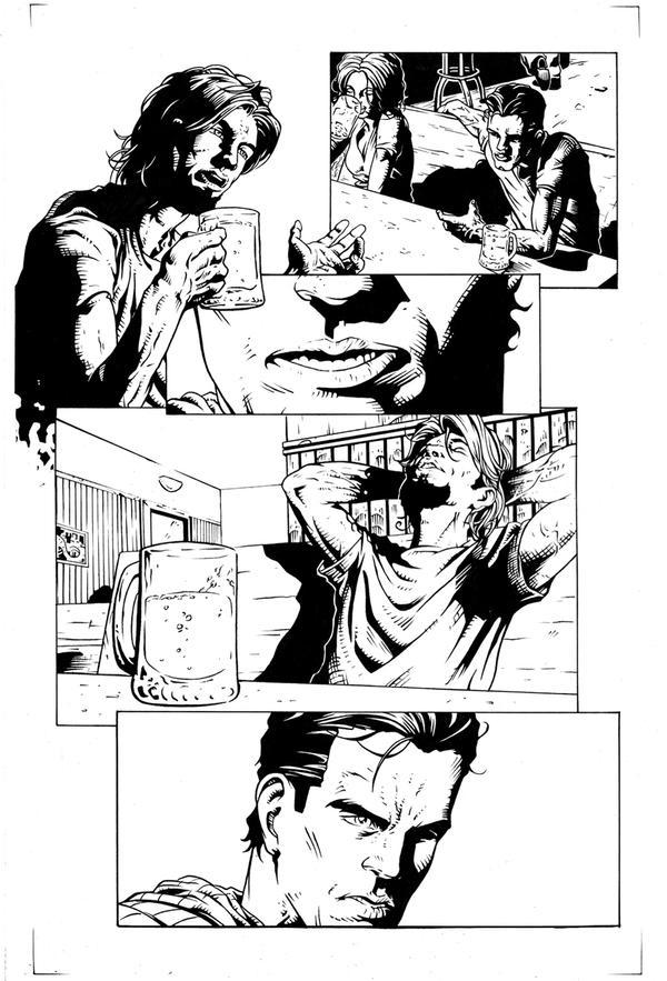 Le Strade della Vendetta p7 Inks by Elisa-Feliz