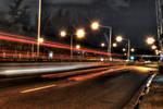 Street Light Streaks 2