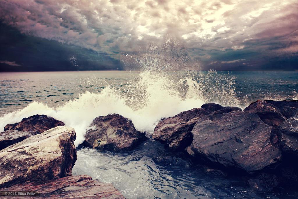 On the Rocks by Elisa-Feliz