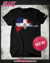 Elliz Clothing Dominican Flag design by Elisa-Feliz