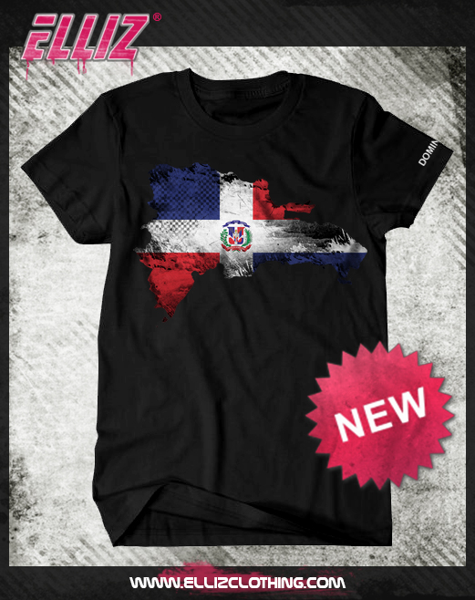 Elliz Clothing Dominican Flag design