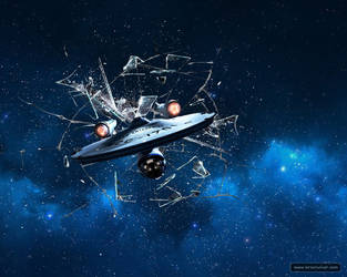 Startrek Spaceship Enterprise Wallpaper 1280x1024 by mr-doe