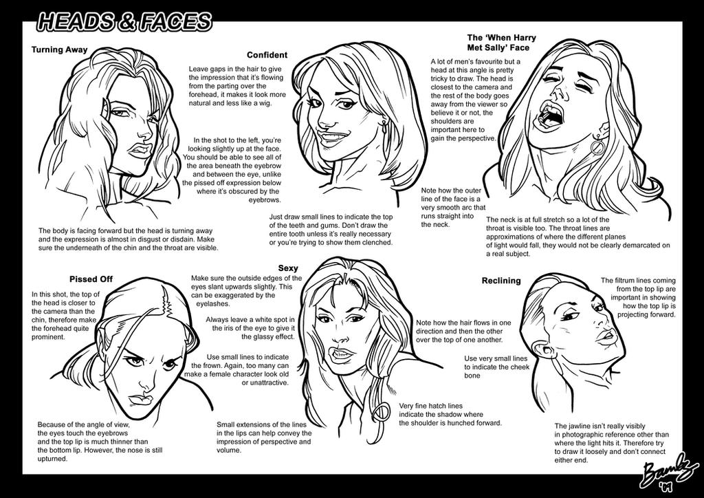 Tutorial: Heads + Faces 2 by Bambs79 on DeviantArt