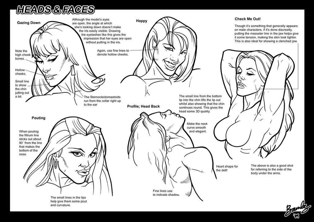 Tutorial: Heads + Faces 3 by Bambs79
