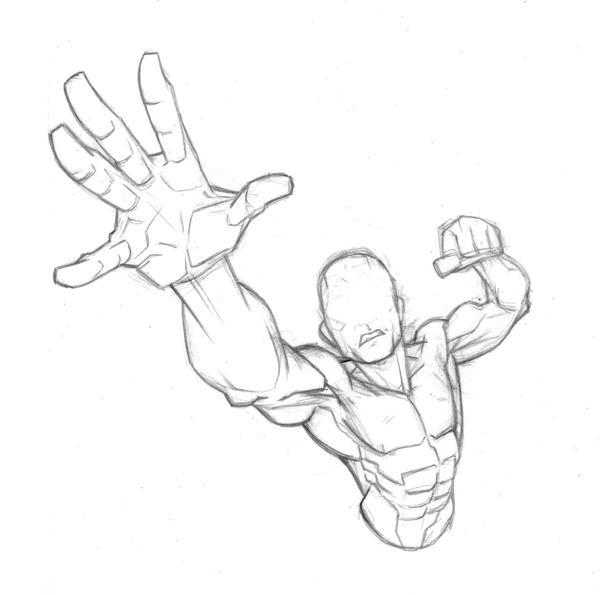 90 mins: Superhero Torso by Bambs79