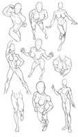 Sketchbook Figure Studies 2 by Bambs79