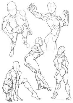 Sketchbook Figure Studies 5