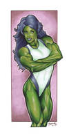 She-Hulk Marker Pic
