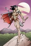 Soviet Superwoman Barbarian Elseworlds