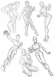 Rob Sketchbook Gals 2