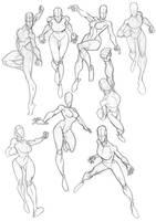 Sketchbook Fit Ladies 2 by Bambs79