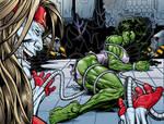 She Hulk Variant Cover Commission
