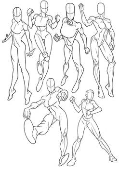 Figure Reference Heroines