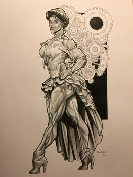 WIP Steampunk She-Hulk
