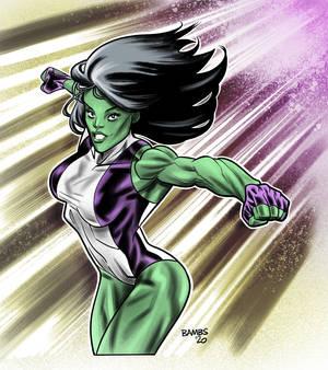 She-Hulk Sketch