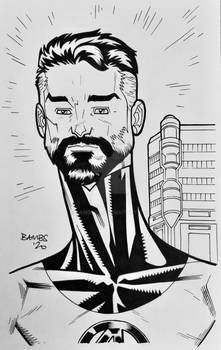 Convention Style Sketch - Mr Fantastic