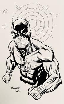 Convention Style Sketch - Daredevil