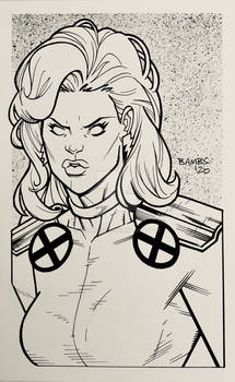 Convention Style Sketch - Storm