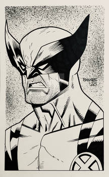Convention Style Sketch - Wolverine