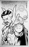Convention Style Sketch - Doctor Strange