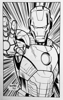 Convention Style Sketch - Iron Man