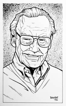 Convention Style Sketch - Stan Lee