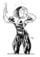Super size Spider Gwen