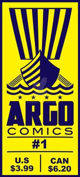 Argo Comics Logo and Ticket Box