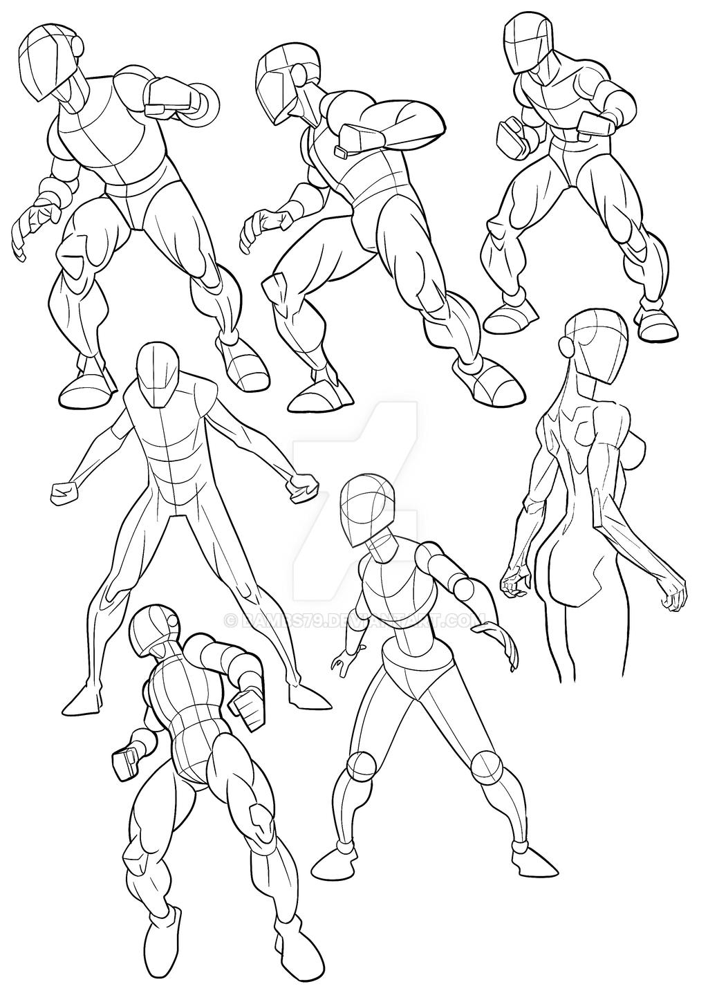 Figure Practice by Bambs79