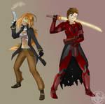 Shadowrun - Delphine and Ashton