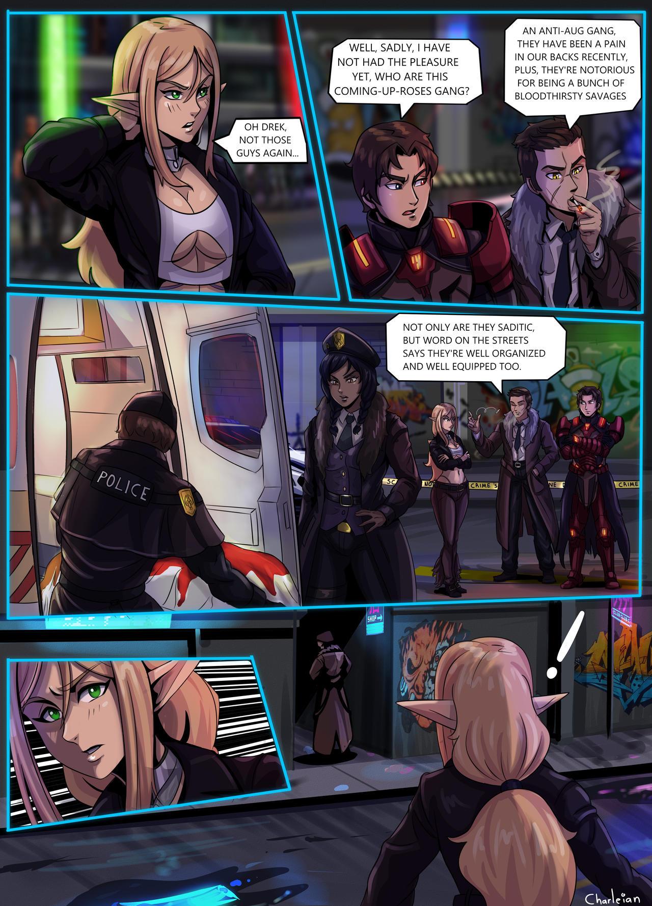 Shadowrun - Nine Tailed Fox - Page 25